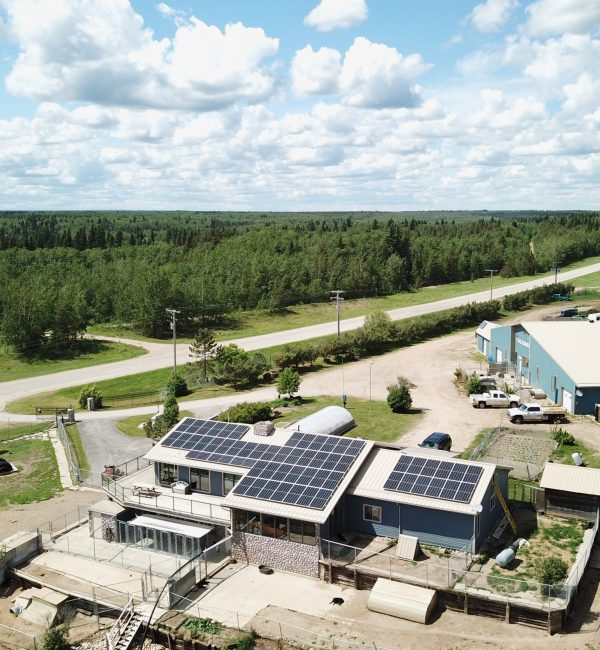 Solar Panels in Northern Saskatchewan